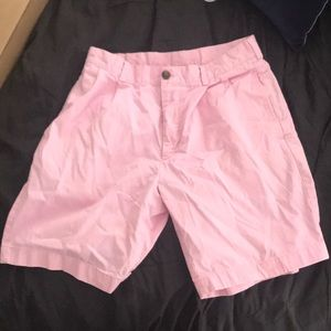 Brooks brothers men's light pink shorts